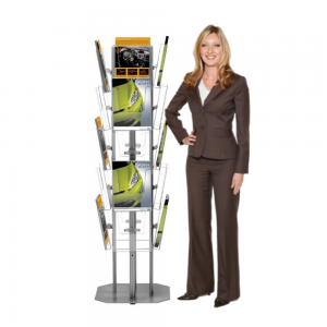 Freestanding Brochure Display Rack - A4, A5 or DL