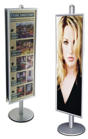Tall Poster Stand