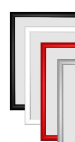 Easel Snap Frames - Silver, Black, White, Grey & Red