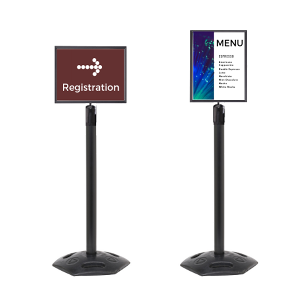 Outdoor Sign Holder Heavy Duty Poster Display A4 A3 Indigo Displays