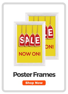Poster Frames & Holders