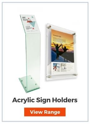 Sign Stands & Holders - Acrylic