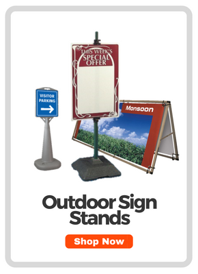 Outdoor Sign Stand