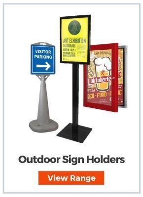 Sign Holders & Stands - Outdoor