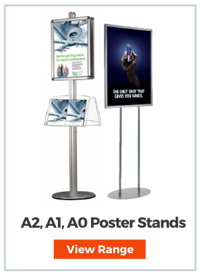 Poster display Stands A2, A1 & A0