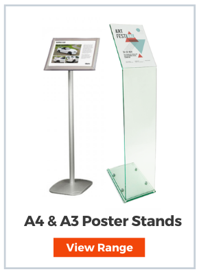 Poster Display stand A3 & A4