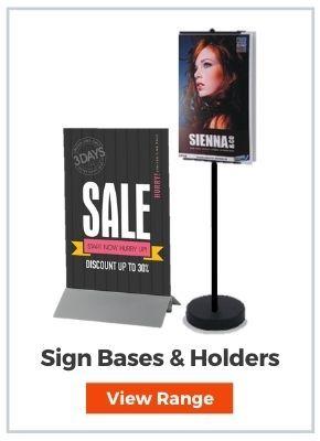 Sign Bases & Sign Holder Stands