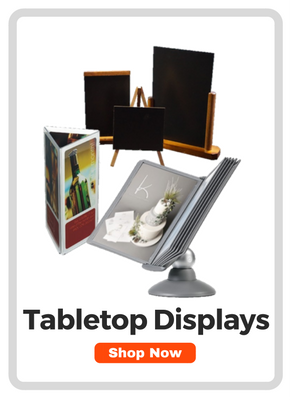 Tabletop Sign Stands