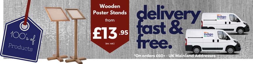 Wooden Poster Display Stands